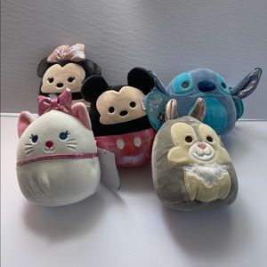 """Mickey and friends Squishmallows 5"""""""